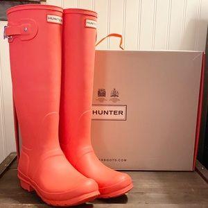 NWT-HUNTER-Original Tall Wellie Boot. 9